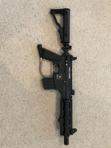used tippmann A-5 paintball gun