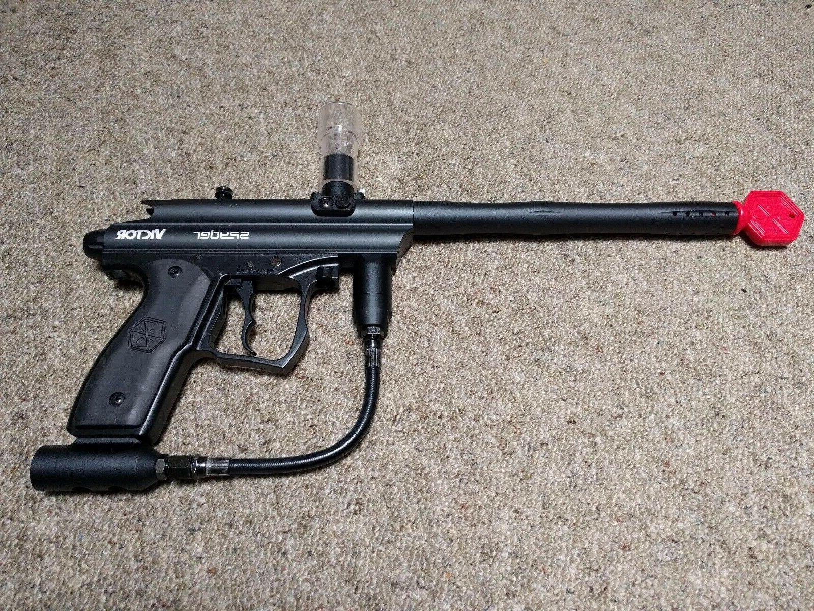 victor paintball gun marker and assoc equipment