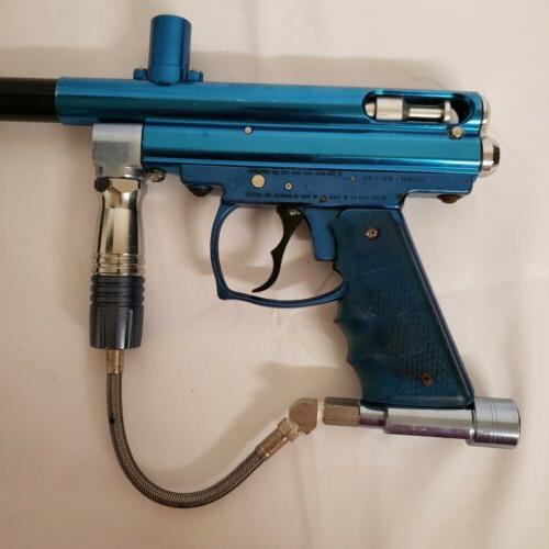 Vintage Spyder Gun Blue-Black Bundle
