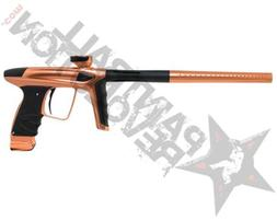 DLX Luxe Ice Paintball Gun Marker Polished Copper Dust Black