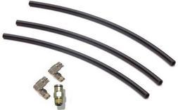 Macroline Complete Hose Kit - Black