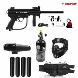 Maddog Tippmann A-5 Standard Silver HPA Paintball Gun Starte