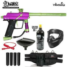 Maddog Azodin Blitz 4 Silver Paintball Gun Starter Package -