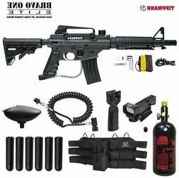Maddog Tippmann Bravo One Elite HPA Red Dot Paintball Gun Pa