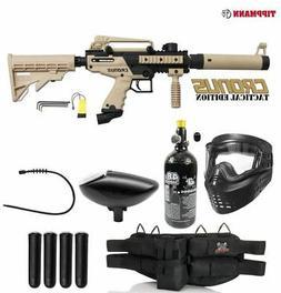 Maddog Tippmann Cronus Tactical Silver HPA Paintball Gun Sta