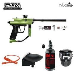 Maddog Azodin Kaos 2 1 Star Nitro Paintball Gun Marker Packa
