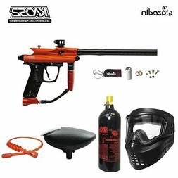 Maddog Azodin Kaos 2 Bronze Paintball Gun Marker Package Ora