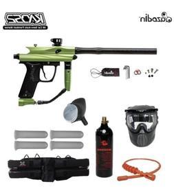 "Maddog Azodin Kaos 2 Silver Paintball Gun Marker Package """
