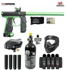 Maddog Empire Mini GS Expert Paintball Gun Package Dust Blac