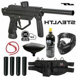 Maddog JT Stealth Semi-Automatic Silver CO2 Paintball Gun St