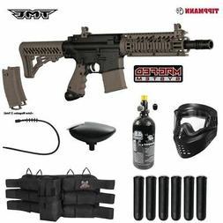 Maddog Tippmann TMC MAGFED Titanium HPA Paintball Gun Marker
