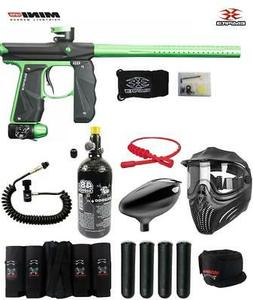 Empire Mini GS Maddog Elite Remote HPA Paintball Gun Package