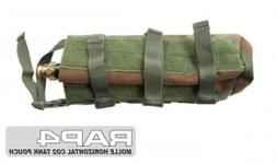 MOLLE Horizontal CO2 Air Tank Pouch   - paintball pouch