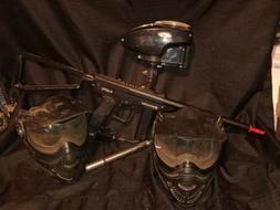 Spyder mr1 paintball gun and accessories