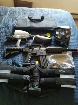 Spyder MRX Paintball Gun And Accessories. Never used