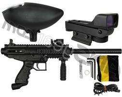 TIPPMANN CRONUS BASIC PAINTBALL GUN W/ LOADER & RED DOT SIGH