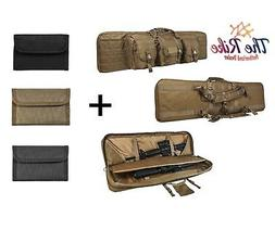 Nc Star Double Carbine Case, Brown/Tan, Large/42""