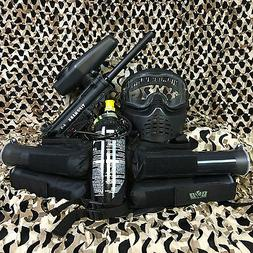NEW Tippmann A5 EPIC Paintball Marker Gun Package Kit - Blac