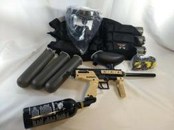NEW Tippmann Cronus Paintball Marker Gun Package Tan/Black M