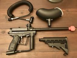 New SPYDER MR100 PAINTBALL GUN AND ACCESSORIES Look At All P