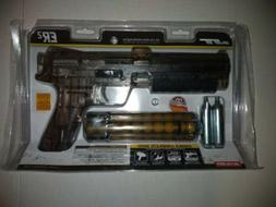 NEW PAINTBALL GUN SET 30 Paintballs 2 Co2 Cartridges PUMP PI
