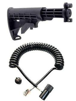 NEW Tippmann A-5 A5 Car Stock & Thick Hose Coiled Paintball
