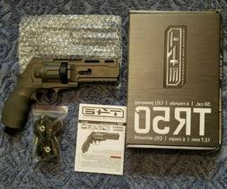 New Umarex T4E TR50 .50 Cal Paintball Revolver Marker Gun Co