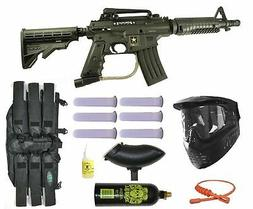 New Tippmann US Army Alpha Black Elite Tactical Paintball Gu
