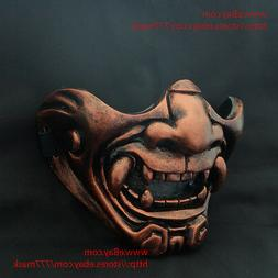 Oni Airsoft Mask Paintball BB Gun Devil Demon Evil Noh Hallo