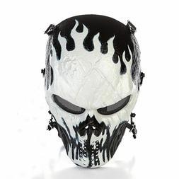 Outdoor Master Skull Skeleton Airsoft Paintball BB Gun CS Fu
