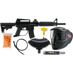 JT Outkast Paintball Gun RTP Ready to Play Package Kit Marke