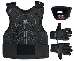 Maddog Sports Padded Chest Protector, Full Finger Tactical G