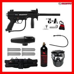 Tippmann A-5 Paintball Gun Complete Gold Package