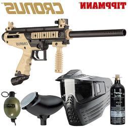 Tippmann Paintball Gun Package Cronus 81967 Mask Tank Ready