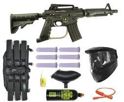 Paintball Gun Pistol Mask Best Gear Gloves Helmet Equipment