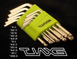 Exalt Paintball Hex Key Set - Lime Green