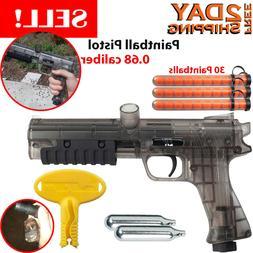 Paintball Pistol Gun Marker Kit With 12gram CO2 Cartridges P