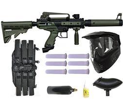 Wrek Paintball Tippmann Cronus Tactical Mega Gun Package Oli