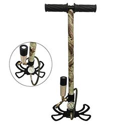 JUFENG 4500PSI PCP Pump Foldable Camouflage Air Hand Pump wi