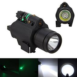 Picatinny Flashlight Glock Laser Sights, P08 180 Lumen Weapo