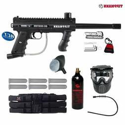 Tippmann Platinum 98 Titanium Paintball Gun Package - Black