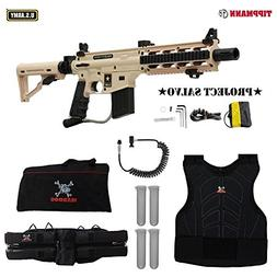 Tippmann Project Salvo Sergeant Paintball Gun Package - Tan