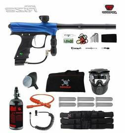 MAddog Proto Rize Corporal HPA Paintball Gun Package - Blue