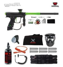 Proto Rize MaXXed Corporal HPA Paintball Gun Package - Black