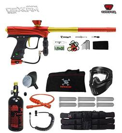 Proto Rize MaXXed Corporal HPA Paintball Gun Package - Red/G