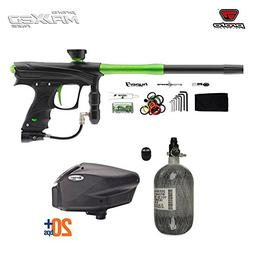 Proto Rize MaXXed HPA Paintball Gun Package - Black / Lime