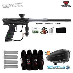 MAddog Proto Rize Paintball Gun + Dye LT-R Loader & Pro Harn