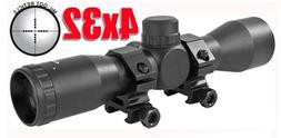 Trinity 4x32 Rifle Scope Mil Dot Reticle, Tippmann 98 Custom