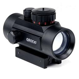 Rifle Scope 1x30mm Red Dot Sight with 20mm/11mm Weaver Picat