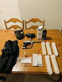 Silver Spyder Victor Paintball Gun Bundle - COMPLETE PAINTBA